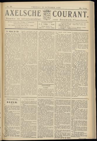 Axelsche Courant 1930-10-10