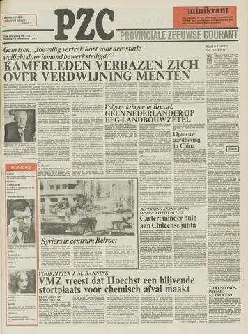 Provinciale Zeeuwse Courant 1976-11-16