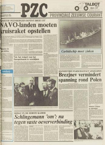Provinciale Zeeuwse Courant 1981-04-08