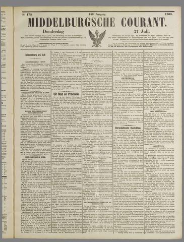 Middelburgsche Courant 1905-07-27