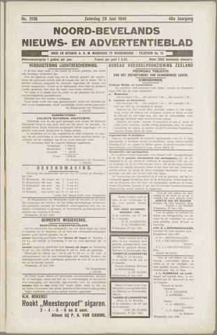Noord-Bevelands Nieuws- en advertentieblad 1940-06-29