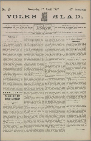 Volksblad 1922-04-12