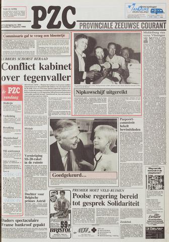 Provinciale Zeeuwse Courant 1988-08-27