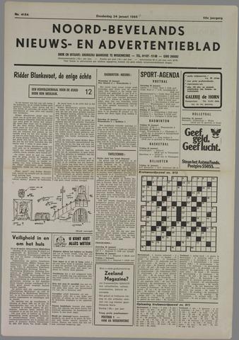 Noord-Bevelands Nieuws- en advertentieblad 1985-01-24
