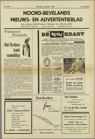 Noord-Bevelands Nieuws- en advertentieblad 1955-12-03