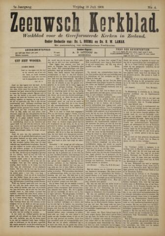 Zeeuwsche kerkbode, weekblad gewijd aan de belangen der gereformeerde kerken/ Zeeuwsch kerkblad 1909-07-16