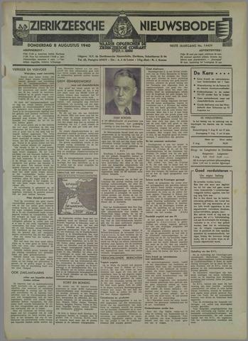 Zierikzeesche Nieuwsbode 1940-08-08