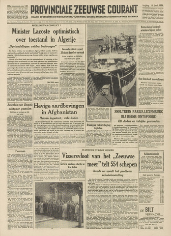 Provinciale Zeeuwse Courant 1956-06-15