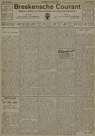 Breskensche Courant 1934-02-21