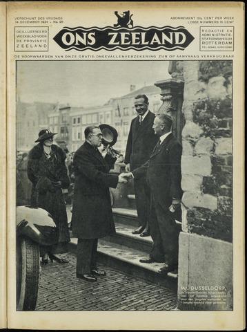 Ons Zeeland / Zeeuwsche editie 1934-12-14
