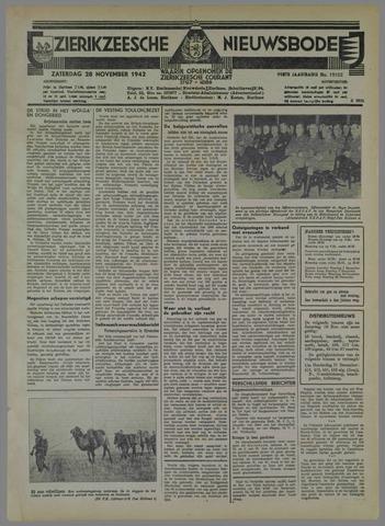 Zierikzeesche Nieuwsbode 1942-11-28