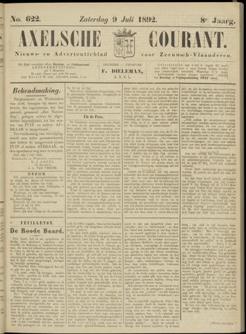 Axelsche Courant 1892-07-09
