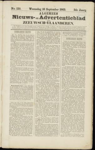 Ter Neuzensche Courant. Algemeen Nieuws- en Advertentieblad voor Zeeuwsch-Vlaanderen / Neuzensche Courant ... (idem) / (Algemeen) nieuws en advertentieblad voor Zeeuwsch-Vlaanderen 1863-09-16