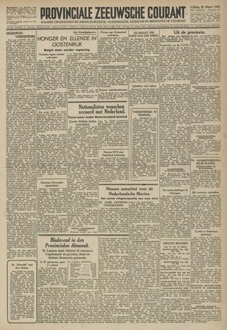 Provinciale Zeeuwse Courant 1946-03-22