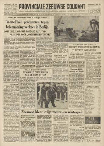 Provinciale Zeeuwse Courant 1960-09-01