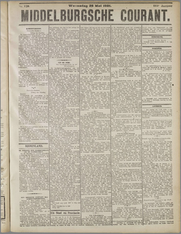 Middelburgsche Courant 1921-05-25