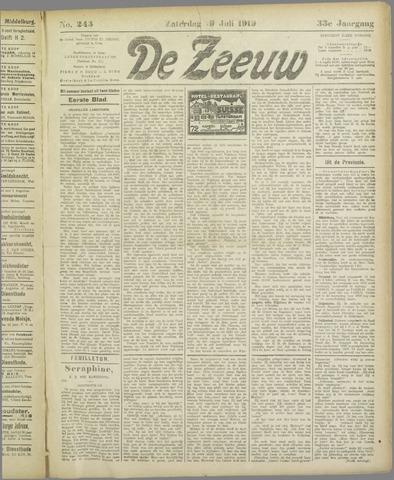 De Zeeuw. Christelijk-historisch nieuwsblad voor Zeeland 1919-07-19
