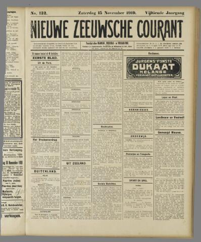 Nieuwe Zeeuwsche Courant 1919-11-15