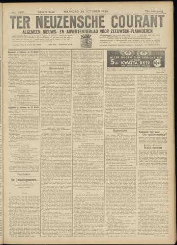 Ter Neuzensche Courant. Algemeen Nieuws- en Advertentieblad voor Zeeuwsch-Vlaanderen / Neuzensche Courant ... (idem) / (Algemeen) nieuws en advertentieblad voor Zeeuwsch-Vlaanderen 1936-10-26