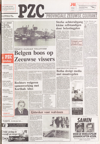 Provinciale Zeeuwse Courant 1988-10-21