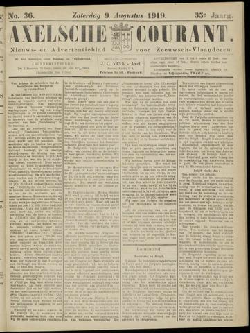 Axelsche Courant 1919-08-09