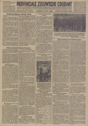 Provinciale Zeeuwse Courant 1942-11-17