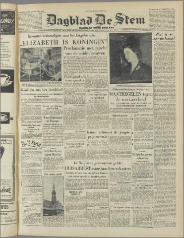 de Stem 1952-02-09