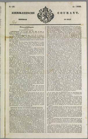 Zierikzeesche Courant 1844-07-16