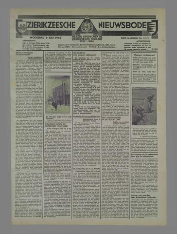 Zierikzeesche Nieuwsbode 1942-07-08