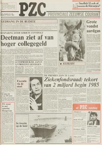 Provinciale Zeeuwse Courant 1984-01-27