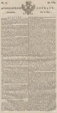 Middelburgsche Courant 1763-05-12