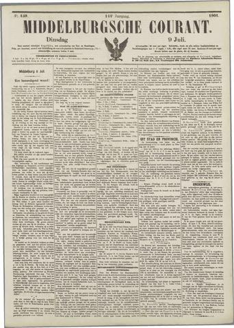Middelburgsche Courant 1901-07-09