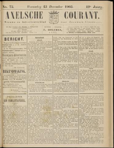 Axelsche Courant 1903-12-23