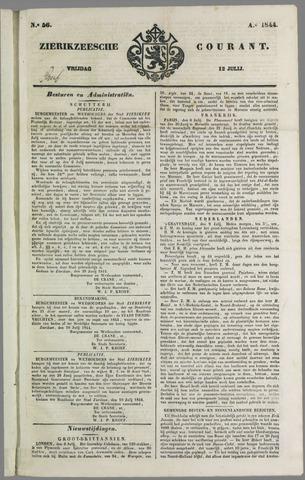 Zierikzeesche Courant 1844-07-12
