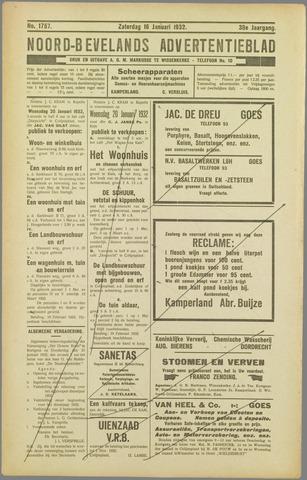 Noord-Bevelands Nieuws- en advertentieblad 1932-01-16