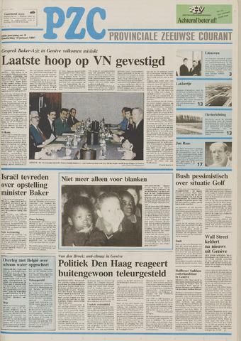 Provinciale Zeeuwse Courant 1991-01-10