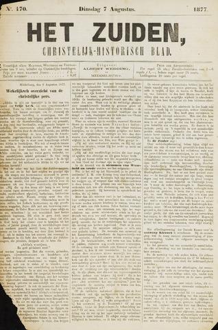 Het Zuiden, Christelijk-historisch blad 1877-08-07