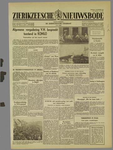 Zierikzeesche Nieuwsbode 1960-11-08