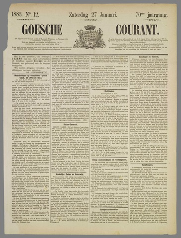 Goessche Courant 1883-01-27