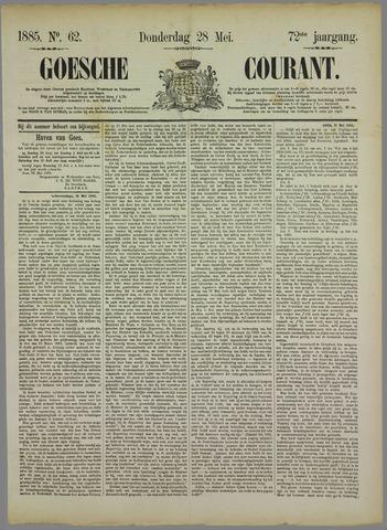 Goessche Courant 1885-05-28