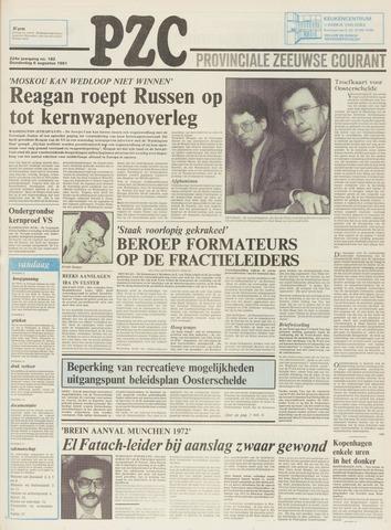 Provinciale Zeeuwse Courant 1981-08-06