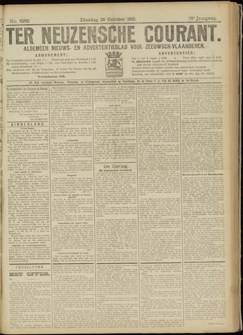 Ter Neuzensche Courant. Algemeen Nieuws- en Advertentieblad voor Zeeuwsch-Vlaanderen / Neuzensche Courant ... (idem) / (Algemeen) nieuws en advertentieblad voor Zeeuwsch-Vlaanderen 1915-10-26
