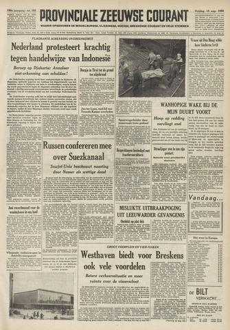 Provinciale Zeeuwse Courant 1956-08-10