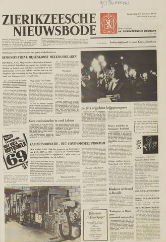 Zierikzeesche Nieuwsbode 1973-02-15