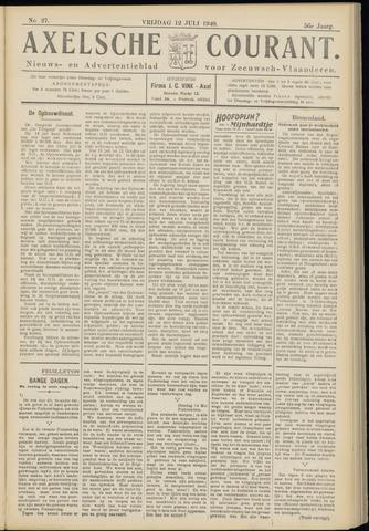 Axelsche Courant 1940-07-12
