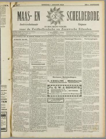 Maas- en Scheldebode 1924