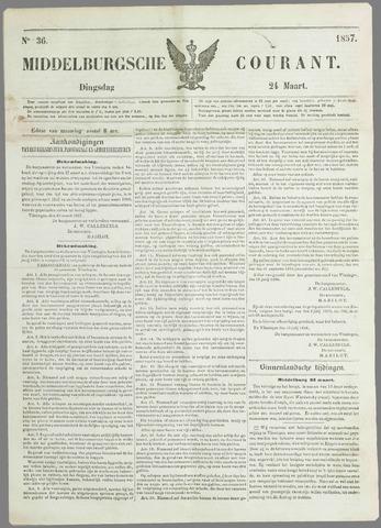 Middelburgsche Courant 1857-03-24
