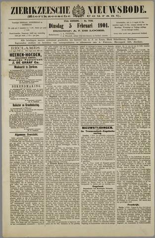 Zierikzeesche Nieuwsbode 1901-02-05