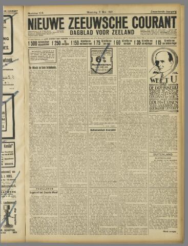 Nieuwe Zeeuwsche Courant 1921-05-09