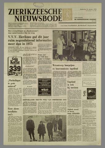 Zierikzeesche Nieuwsbode 1976-10-21